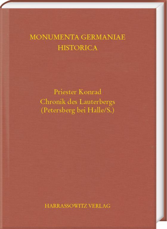 Cover-Bild Priester Konrad. Chronik des Lauterbergs (Petersberg bei Halle/S.)