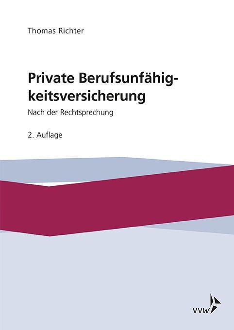 Cover-Bild Private Berufsunfähigkeitsversicherung