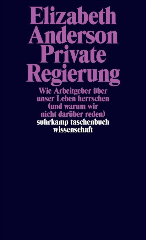 Cover-Bild Private Regierung