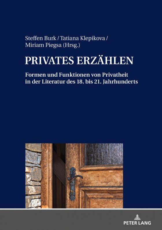 Cover-Bild PRIVATES ERZÄHLEN