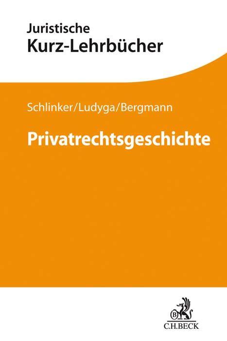 Cover-Bild Privatrechtsgeschichte