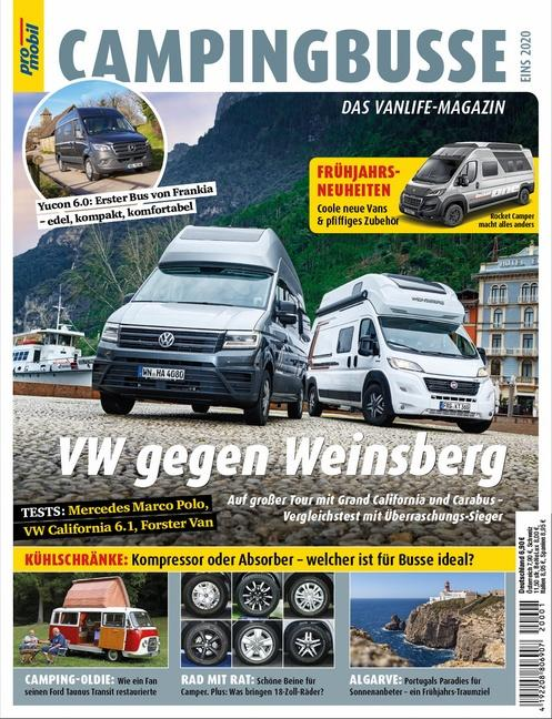 Cover-Bild pro mobil Extra Campingbusse