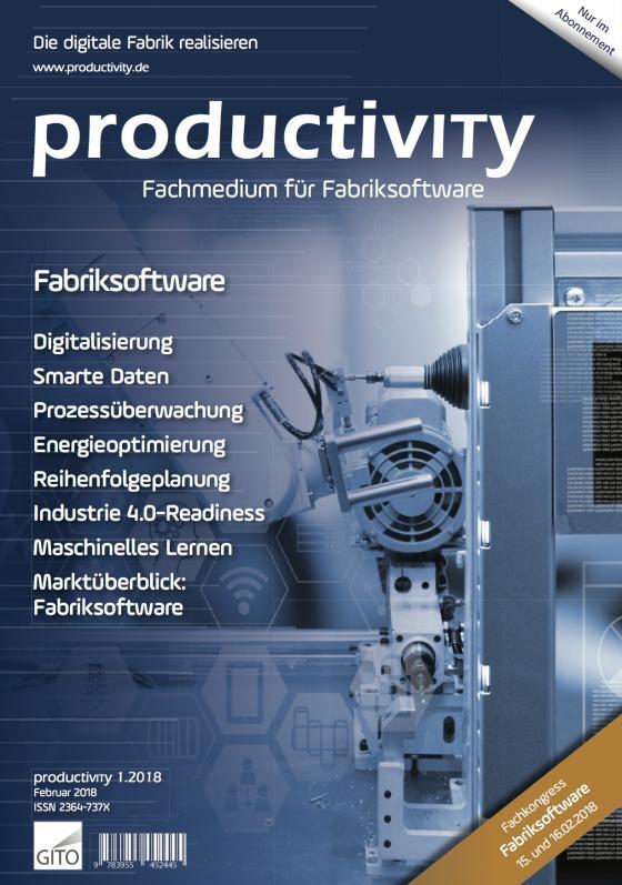 Cover-Bild productivity 1/2018 E-Journal