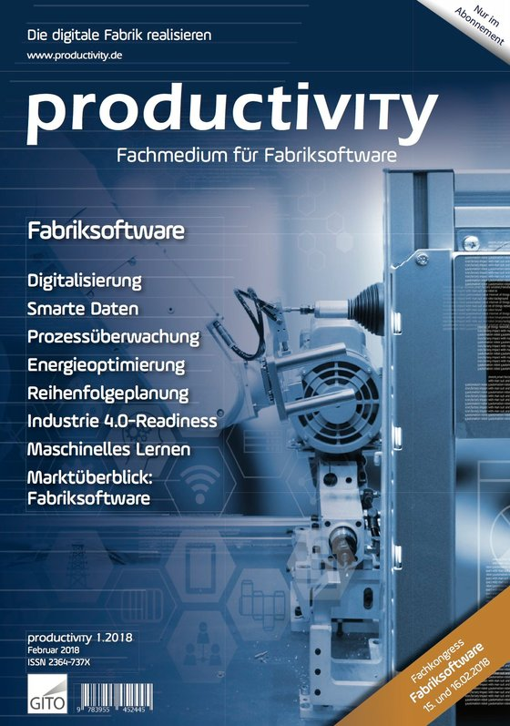 Cover-Bild productivITy 1/2018