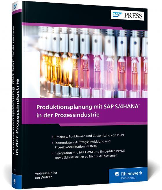 Cover-Bild Produktionsplanung mit SAP S/4HANA in der Prozessindustrie