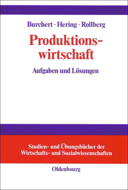 Cover-Bild Produktionswirtschaft