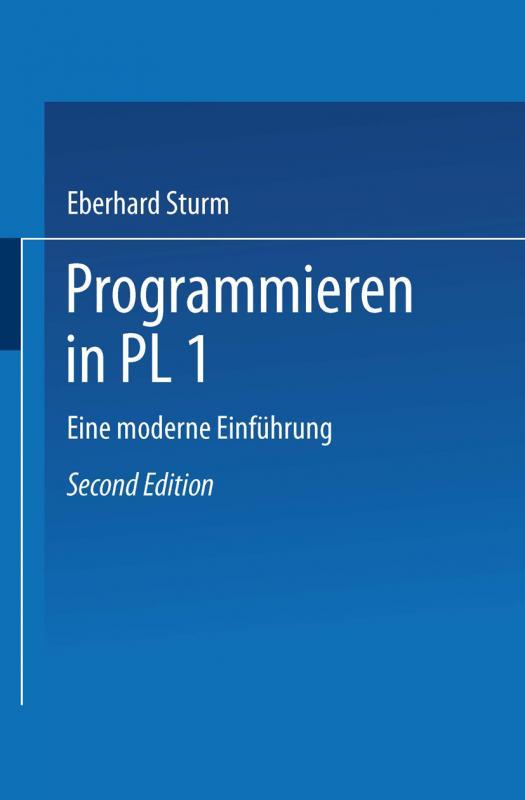 Cover-Bild Programmieren in PL/I