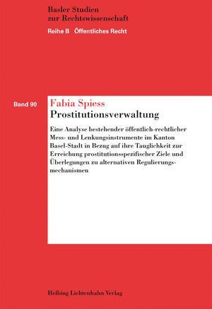 Cover-Bild Prostitutionsverwaltung