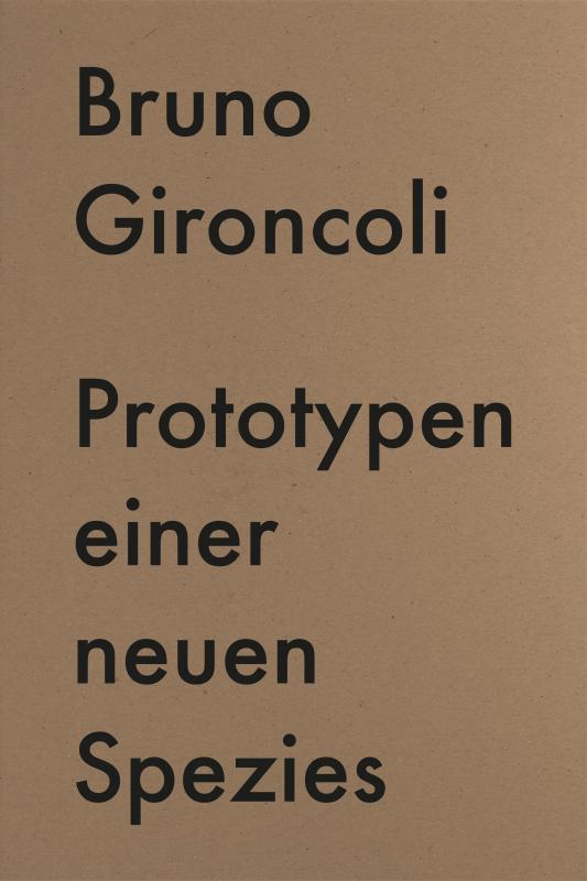 Cover-Bild Prototypen einer neuen Spezies / Prototypes for a New Species