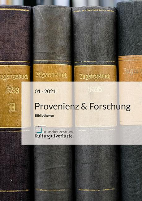 Cover-Bild Provenienz & Forschung