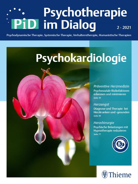 Cover-Bild Psychokardiologie