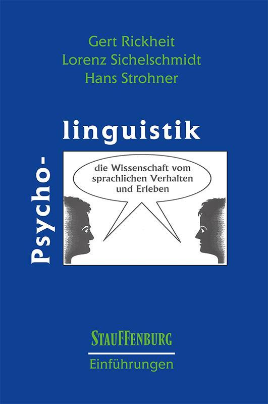 Cover-Bild Psycholinguistik
