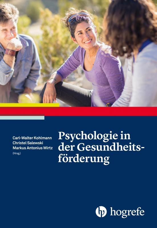Cover-Bild Psychologie in der Gesundheitsförderung