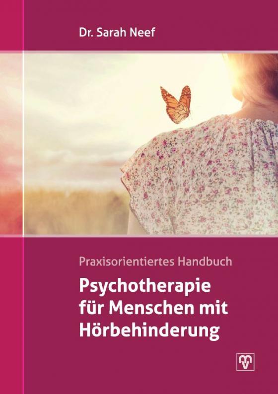Cover-Bild Psychotherapie für Menschen mit Hörbehinderung.