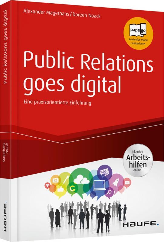 Cover-Bild Public Relations goes digital - inkl. Arbeitshilfen online