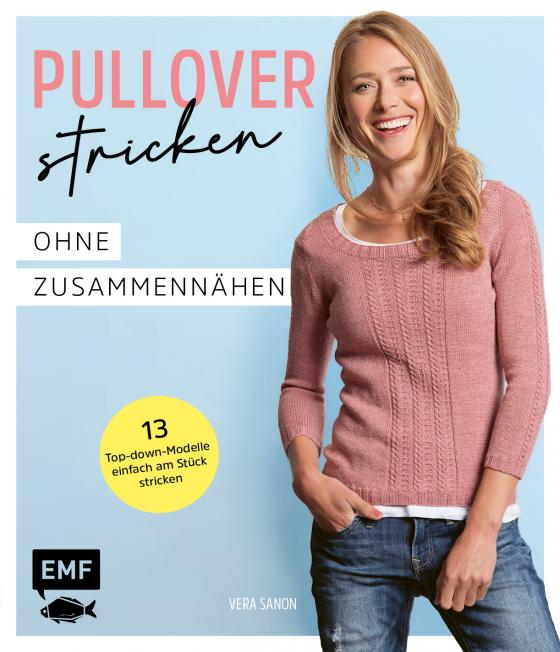 Cover-Bild Pullover stricken ohne Zusammennähen