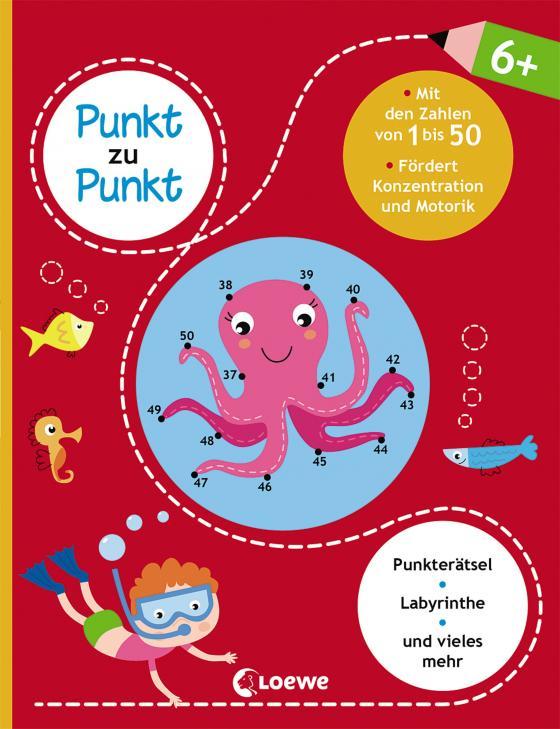 Cover-Bild Punkt zu Punkt - Mit den Zahlen von 1 bis 50