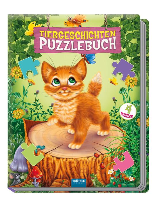 """Cover-Bild Puzzlebuch """"Tiergeschichten"""""""