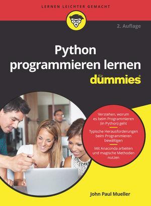 Cover-Bild Python programmieren lernen für Dummies