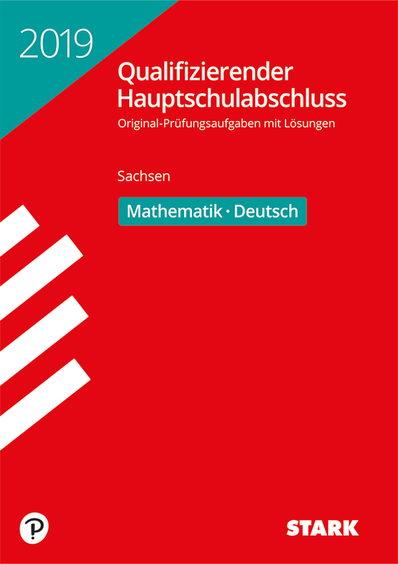 Cover-Bild Qualifizierender Hauptschulabschluss 2019 - Mathematik, Deutsch - Sachsen