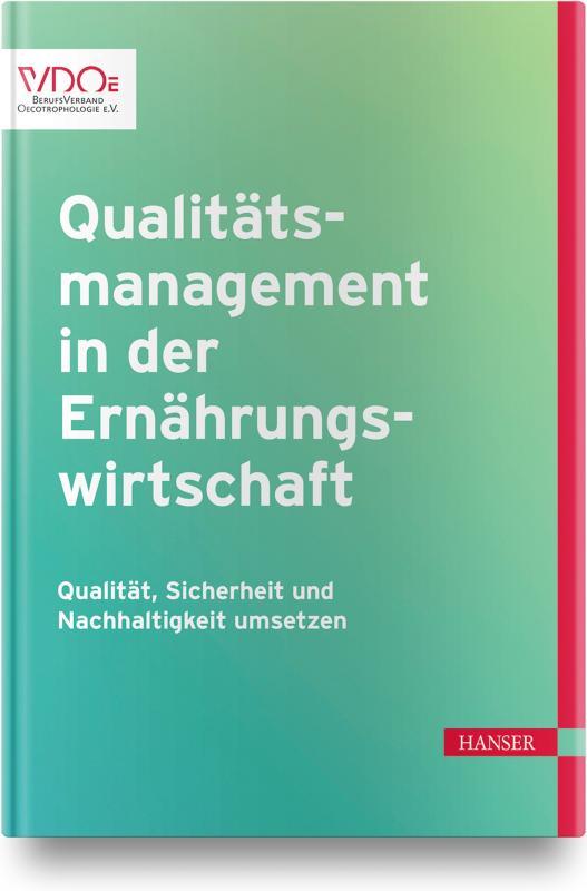 Cover-Bild Qualitätsmanagement in der Ernährungswirtschaft