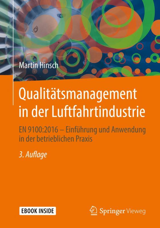 Cover-Bild Qualitätsmanagement in der Luftfahrtindustrie