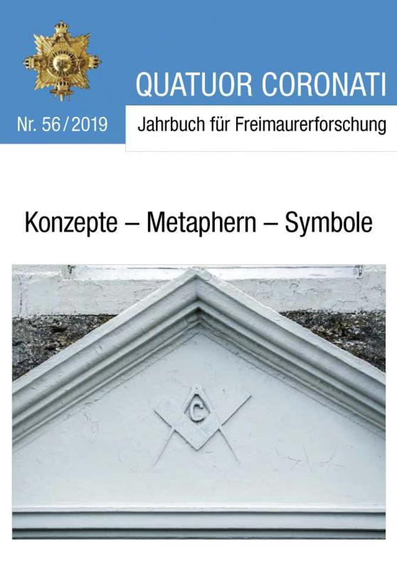 Cover-Bild Quatuor Coronati Jahrbuch für Freimaurerforschung Nr. 56/2019