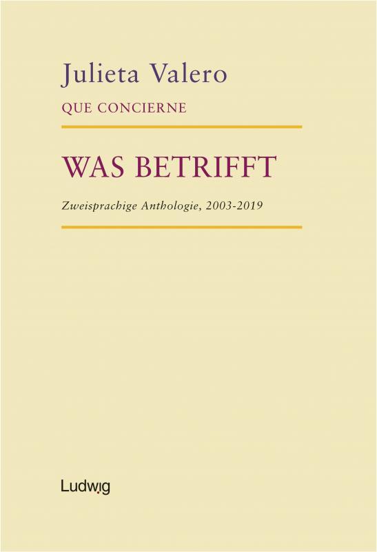 Cover-Bild Que Concierne - Was Betrifft