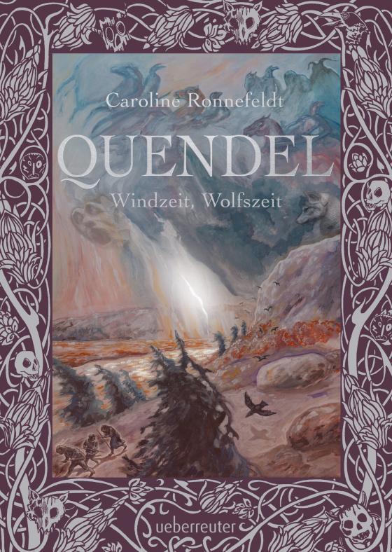 Cover-Bild Quendel - Windzeit, Wolfszeit