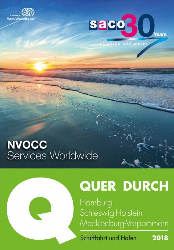 Cover-Bild QUER DURCH HAMBURG Schifffahrt und Hafen 2018