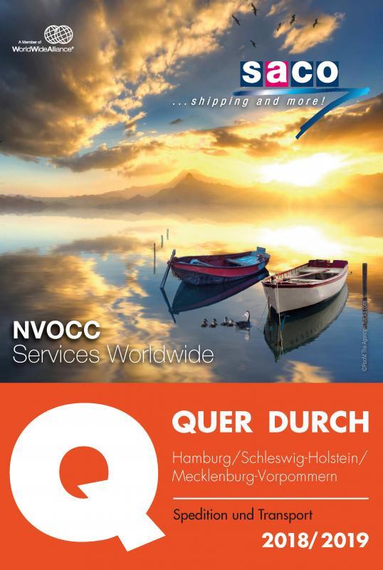 Cover-Bild QUER DURCH HAMBURG Spedition und Transport 2019/2020