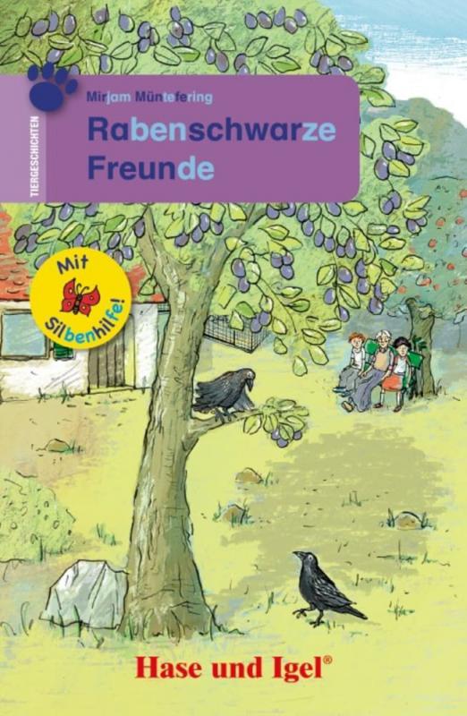 Cover-Bild Rabenschwarze Freunde / Silbenhilfe