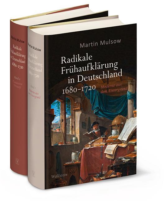 Cover-Bild Radikale Frühaufklärung in Deutschland 1680-1720