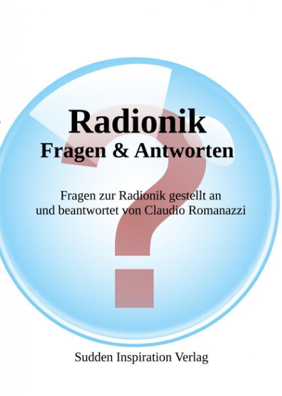 Cover-Bild Radionik - Fragen und Antworten