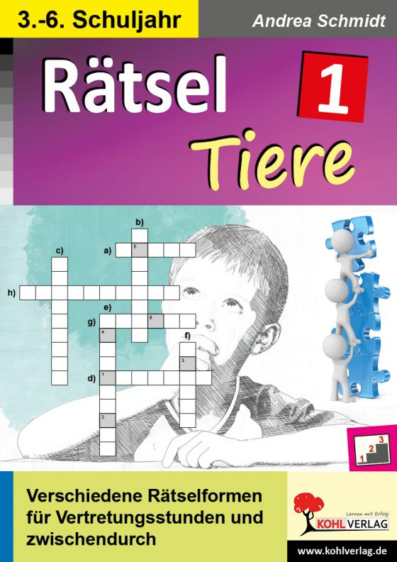 Cover-Bild Rätsel / Band 1: Tiere
