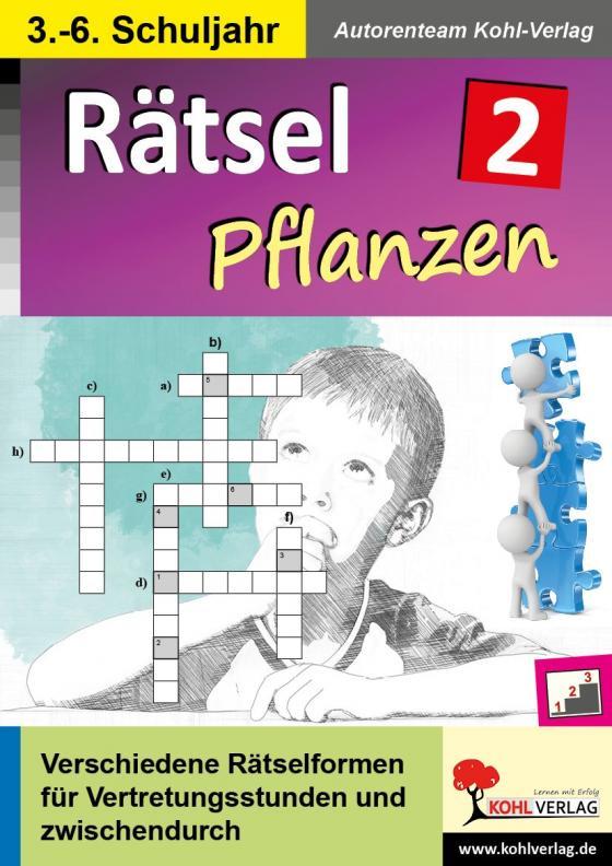 Cover-Bild Rätsel / Band 2: Pflanzen