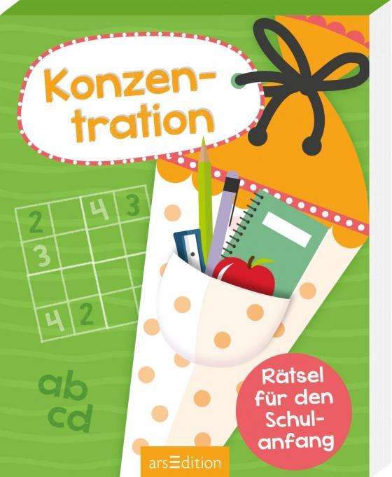 Cover-Bild Rätsel für den Schulanfang Konzentration