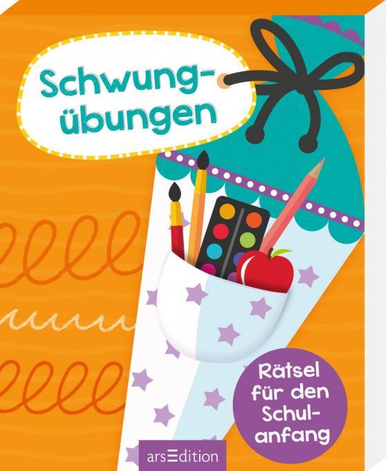 Cover-Bild Rätsel für den Schulanfang Schwungübungen