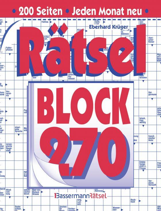Cover-Bild Rätselblock 270 (5 Exemplare à 2,99 €)