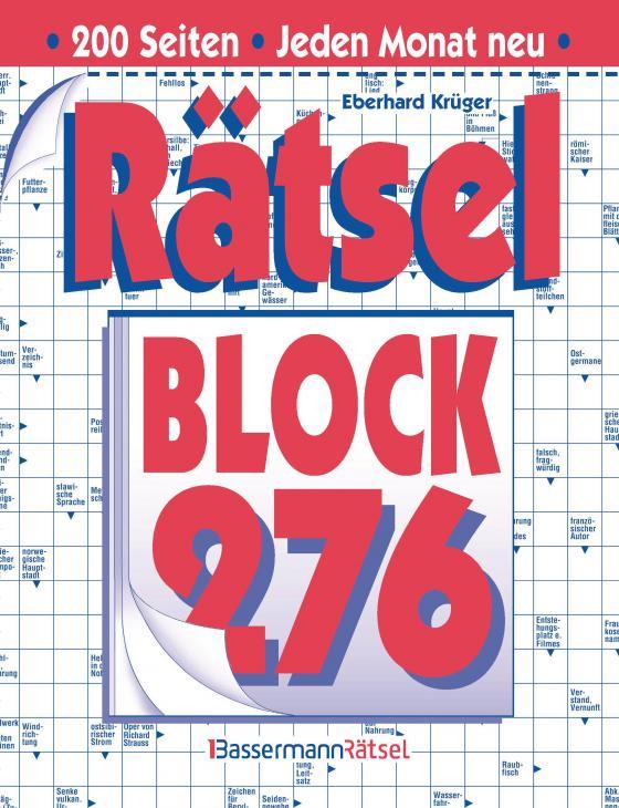 Cover-Bild Rätselblock 276 (5 Exemplare à 2,99 €)