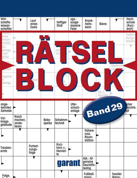 Cover-Bild Rätselblock Band 29