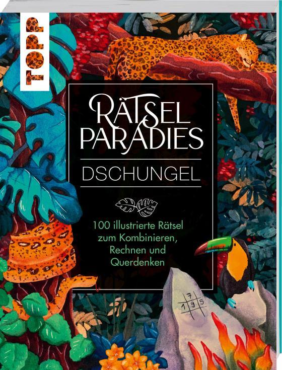 Cover-Bild Rätselparadies – Dschungel