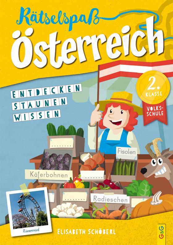 Cover-Bild Rätselspaß Österreich – 2. Klasse Volksschule