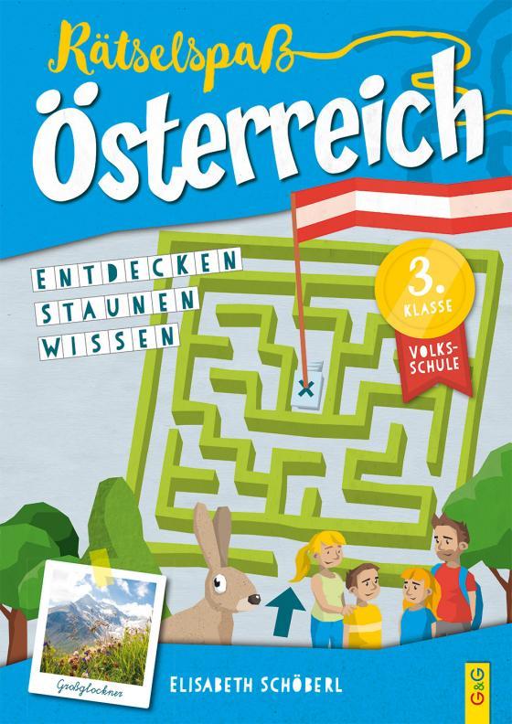 Cover-Bild Rätselspaß Österreich – 3. Klasse Volksschule