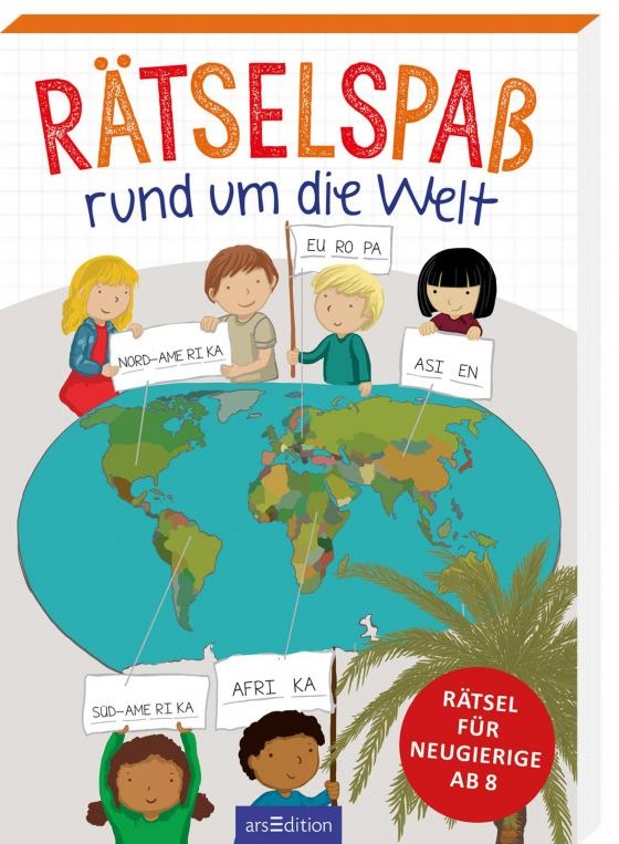Cover-Bild Rätselspaß rund um die Welt