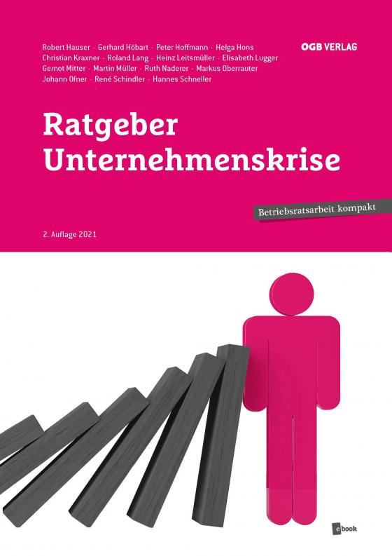 Cover-Bild Ratgeber Unternehmenskrise
