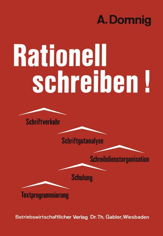 Cover-Bild Rationell schreiben!