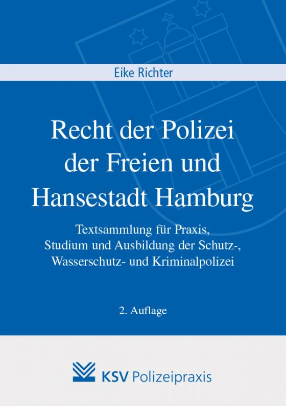 Cover-Bild Recht der Polizei der Freien und Hansestadt Hamburg