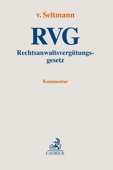 Cover-Bild Rechtsanwaltsvergütungsgesetz