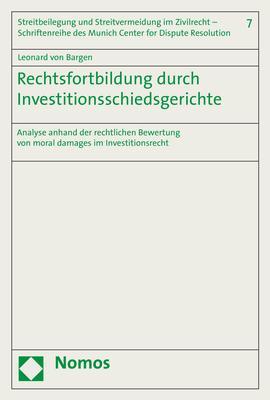 Cover-Bild Rechtsfortbildung durch Investitionsschiedsgerichte